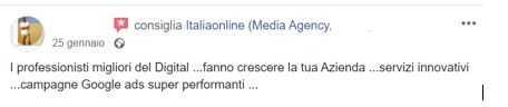 opinioni positive e negative italiaonline