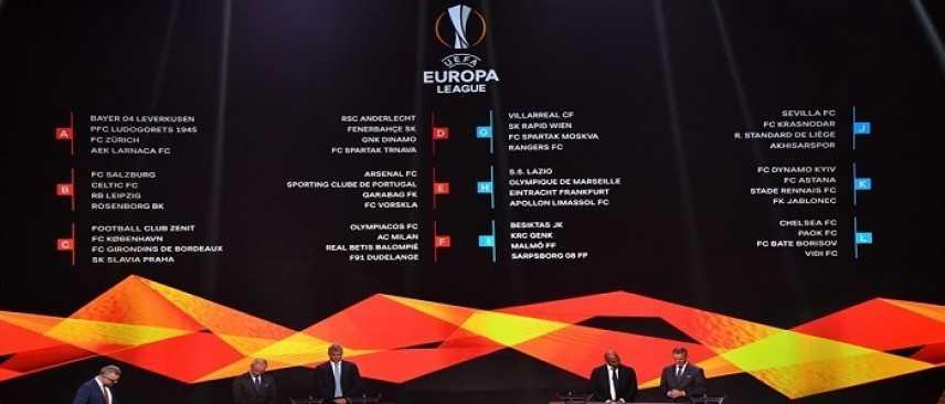 Sorteggi Europa League: il Milan pesca Olympiacos e Betis, la Lazio sfida il Marsiglia