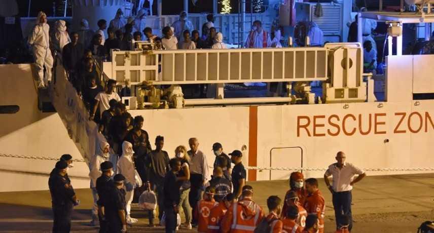 Caso Diciotti: migranti in partenza per Rocca di Papa