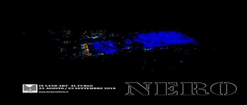 IX Edizione Land Art al Furlo: NERO