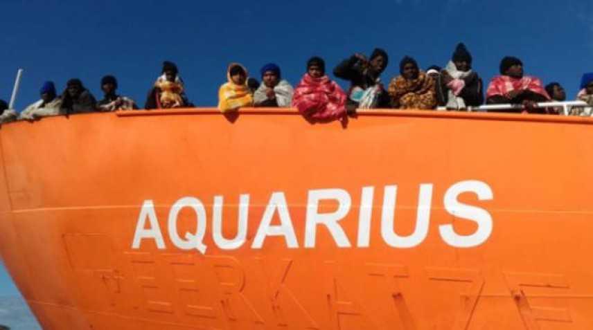 Nave Aquarius, 141 migranti ricollocati in cinque Paesi europei