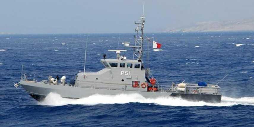Malta, soccorre un gommone con 114 migranti