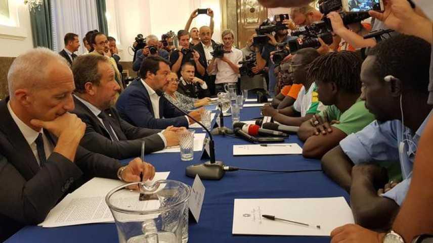"""Caporalato a Foggia, Salvini: """"Chiuderemo i ghetti, è un problema di mafia"""""""