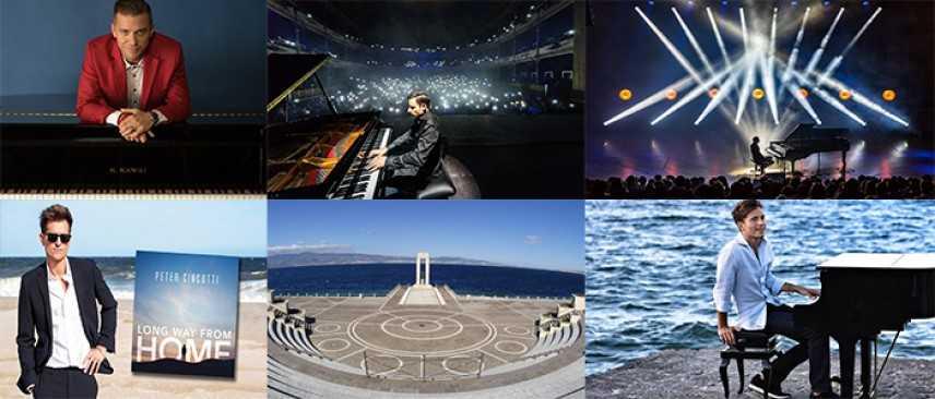 """Con Peter Cincotti si apre domani sera il """"Reggio Live Fest"""" All'arena del lungomare di Reggio C."""