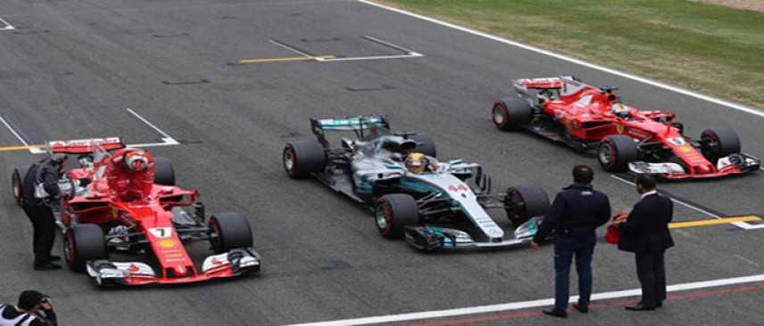 """F1. GP Silverstone: pole a Hamilton, Vettel """"Buone opportunità per domani"""""""