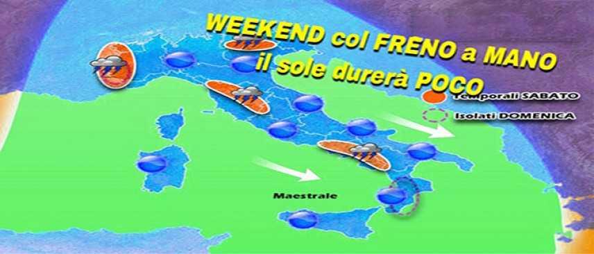 """Meteo: Weekend, """"Estate Si Estate No"""" ecco dove , previsioni su Nord, Centro, Sud e Isole"""