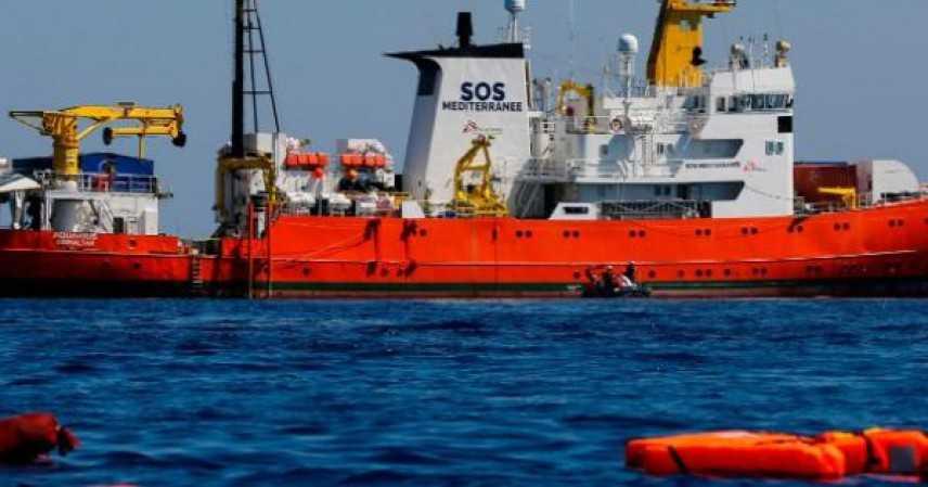 """Salvini: """"Porte chiuse alle ong del Mediterraneo"""""""