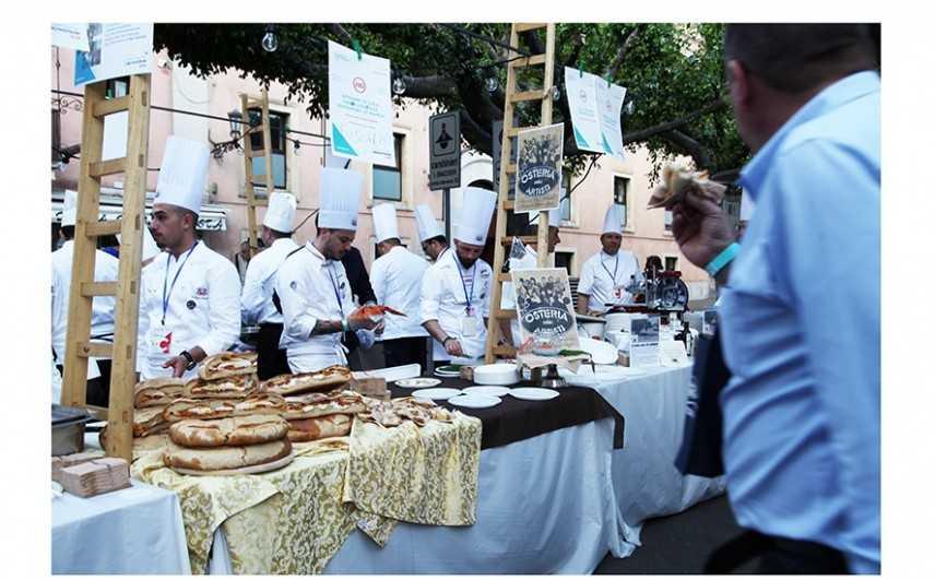 Gli chef calabresi al Taormina Cooking Fest presentan i prodotti tipici della Regione