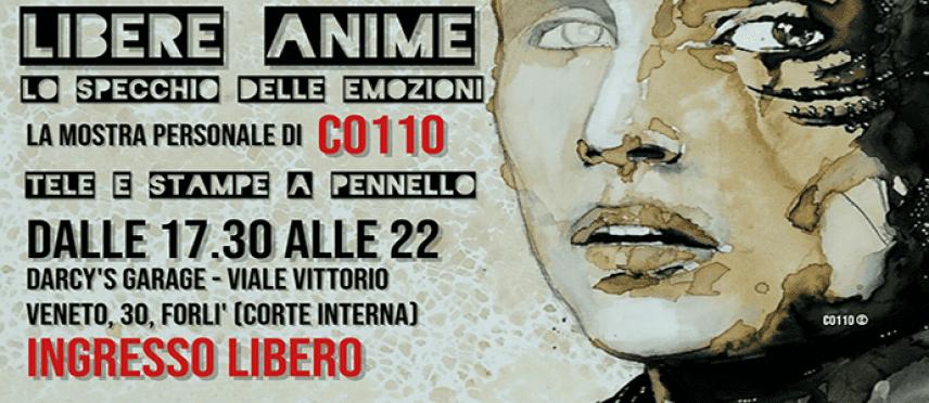 """""""Libere Anime. Lo specchio delle emozioni"""" la mostra personale di C0110 a Forlì"""