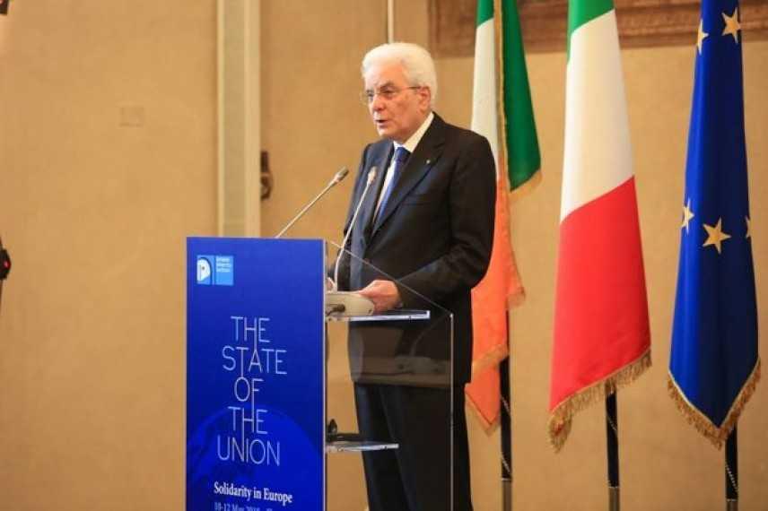 """Firenze, Mattarella allo State of the Union: """"Europa nostro patrimonio. Fondamentale solidarietà"""""""