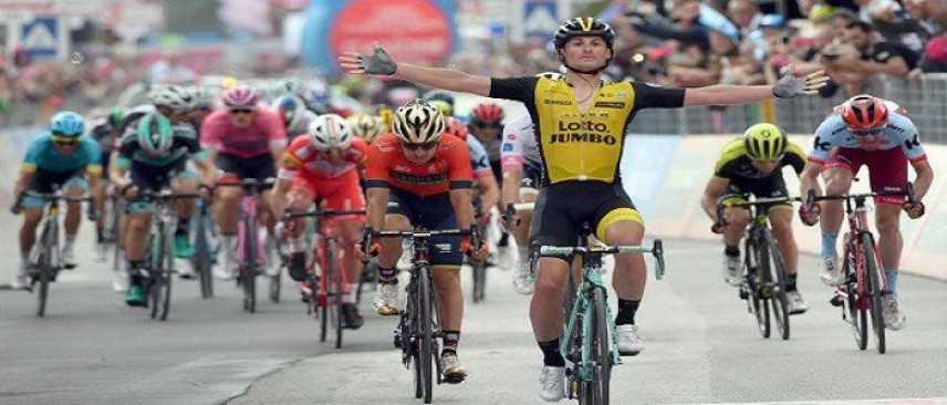 Giro d'Italia, Battaglin vince la quinta tappa