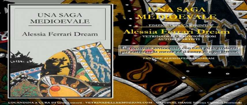 "Alessia Ferrari Dream ""Una Saga Medioevale"""