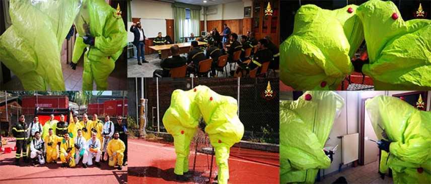 Vigili del Fuoco: Corso per Operatori NBCR di II° Livello - Catanzaro (Foto-Video)