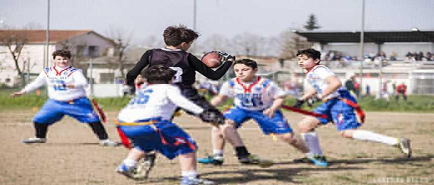 Flag football: i risultati di coppa Italia e del campionato U13