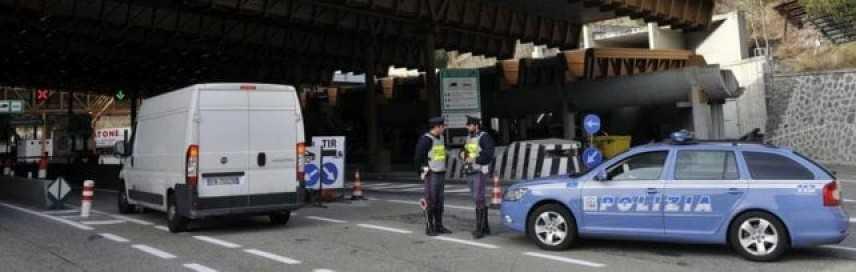 Aosta: fermato furgone contenente TNT. Conducente arrestato