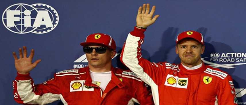"""F1. Bahrain: gioia Vettel 'Ferrari super, bella sensazione' """"Ecco la griglia di partenza"""""""