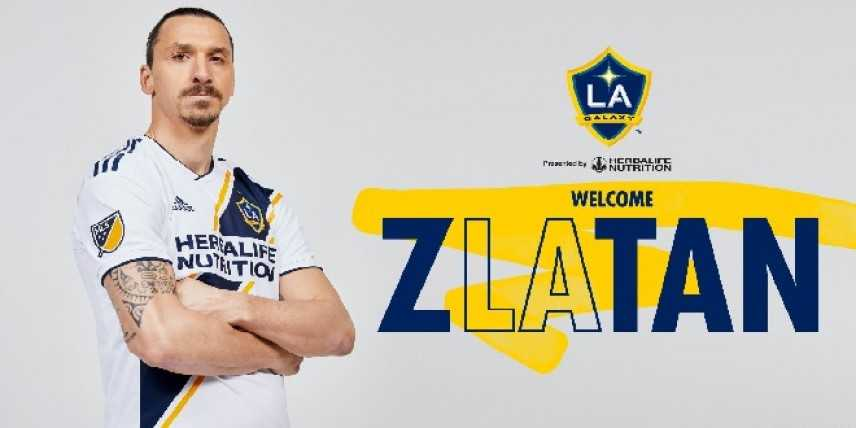 Calcio: ufficiale il trasferimento di Zlatan Ibrahimovic ai Los Angeles Galaxy