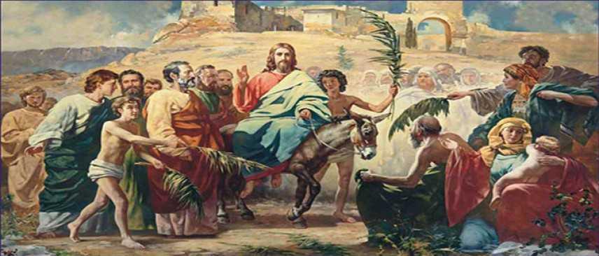 Domenica delle Palme: Osanna! Benedetto colui che viene nel nome del Signore!