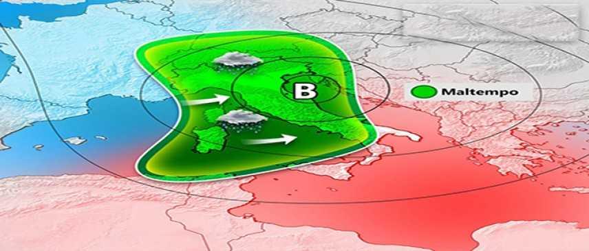 Meteo: Ecco la 2° irruzione artico siberiana il Burian 2, previsioni su Nord, Centro, Sud e Isole