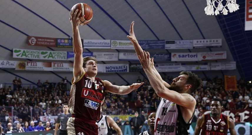 Basket - Serie A1, giornata 20: Milano e Venezia rientrano bene dalla sosta, staccata Avellino