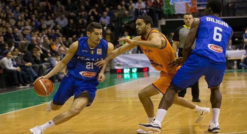 Basket, qualificazioni mondiali 2019: l'Italia affossa l'Olanda e cala il tris