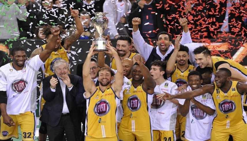 Basket, Coppa Italia: festa Torino, Brescia battuta in finale e trofeo conquistato