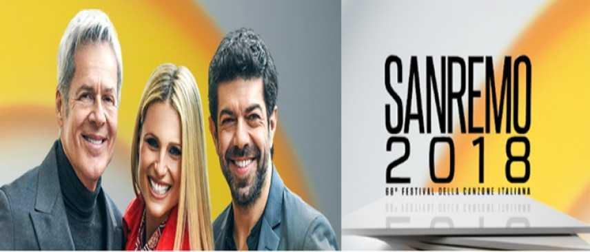 68ma edizione, ecco Sanremo 2018 con Claudio Baglioni, Michelle Hunziker e Pierfrancesco Favino