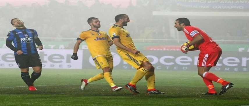 Coppa Italia, Atalanta - Juventus 0-1. Higuain decide la semifinale di andata, Buffon para un rigore