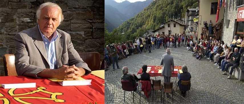 Il sindaco  di Ostana Giacomo Lombardo scrive a Papa Francesco