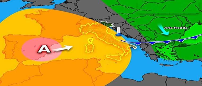 Meteo, 20/21, gelate notturne, previsioni su Nord, Centro, Sud e Isole