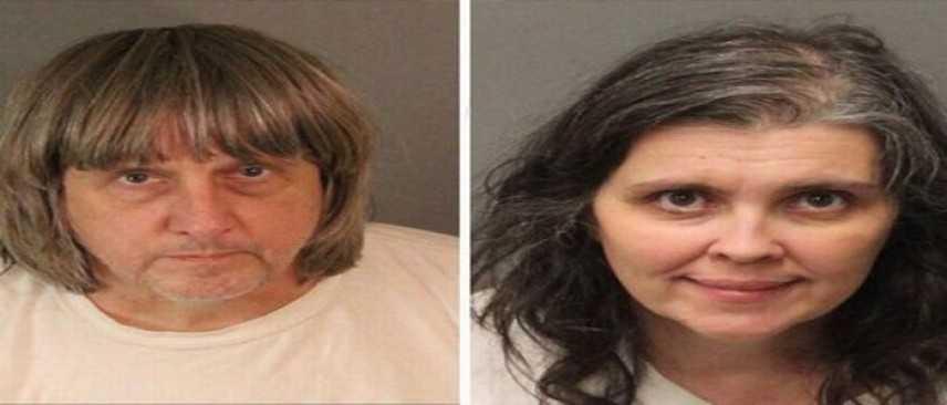 Arrestata coppia in California, detenevano in ostaggio 13 fratelli senza cibo e in catene