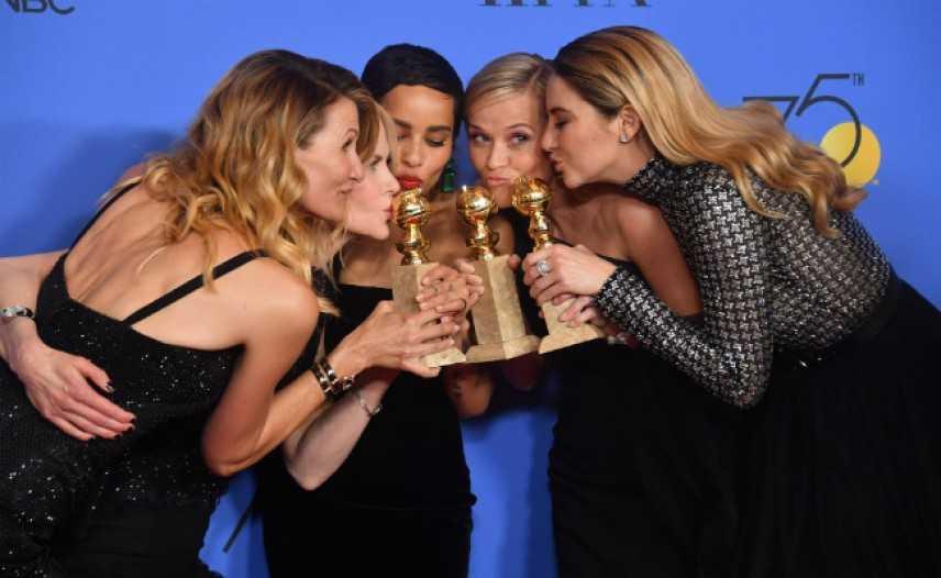 "Golden Globes 2018: vincono ""Tre Manifesti"" e ""Lady Bird"", commovente Oprah Winfrey"
