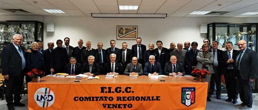 Calcio - LND: Riunitosi oggi a Mestre