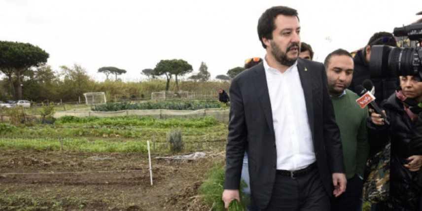 """Skinheads a Como - Salvini: """"Il problema non sono loro, ma l'immigrazione"""""""