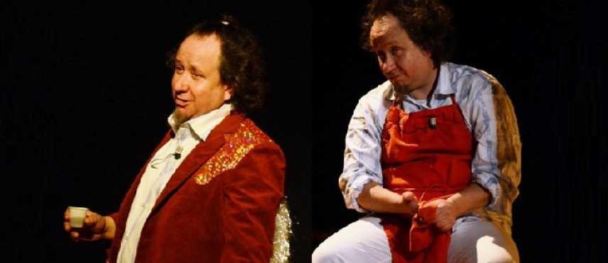 Andrea Kaemmerle presenta il nuovo spettacolo comico -L uomo Tigre - storie di un eroe del liscio