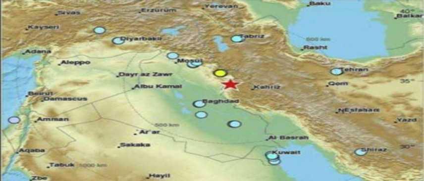 """Iraq: forte scossa terremoto 7,2 a confine con Iran, """"oltre 200 Morti e 1700 feriti"""""""