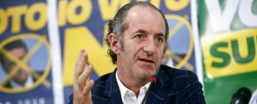 "Referendum autonomie, Zaia: ""Dispiace per parole Benetton"""