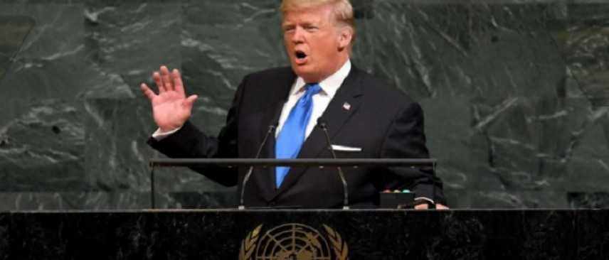 """Donald Trump all'Onu: """"Se ci attacca, distruggeremo la Corea del Nord"""""""