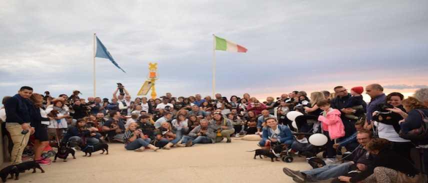 Lido di Camaiore, terzo raduno del Gruppo Spillo il Bassotto