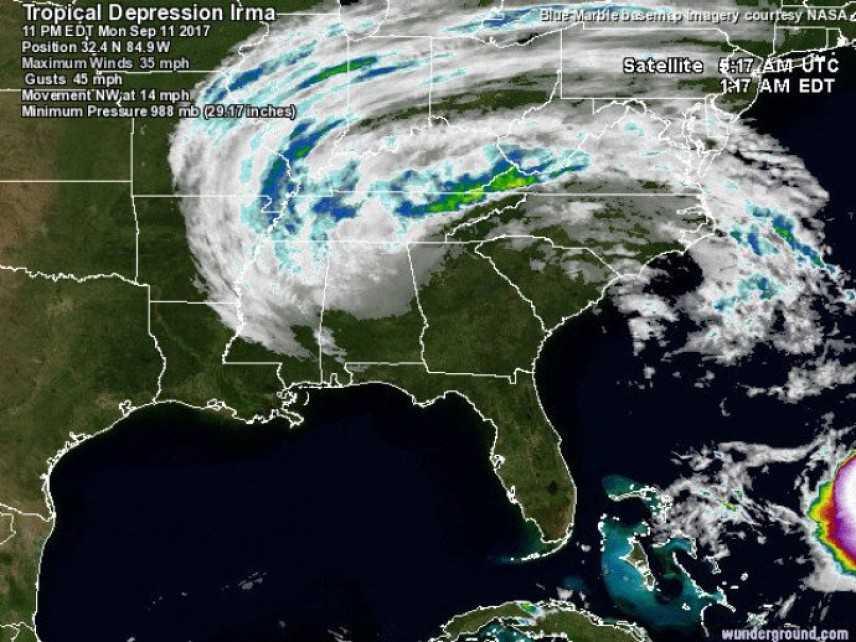 Uragano Irma: 12,5 milioni di persone senza elettricità in Florida