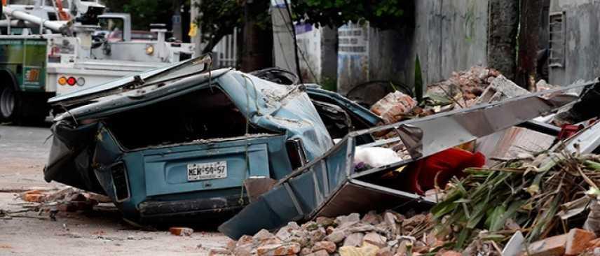 Terremoto Messico: le vittime sono salite almeno a 61