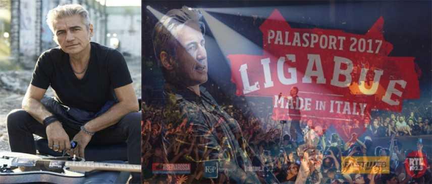 """Luciano Ligabue riparte 4 sett. Ecco il calendario ufficiale dal """"MadeInItaly - Palasport 2017"""""""