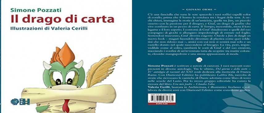 Esce in libreria la favola Il drago di carta di Simone Pozzati