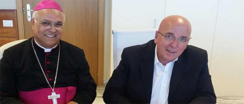Mons. Vincenzo Bertolone. Lettera al presidente della Regione Calabria Mario Oliverio