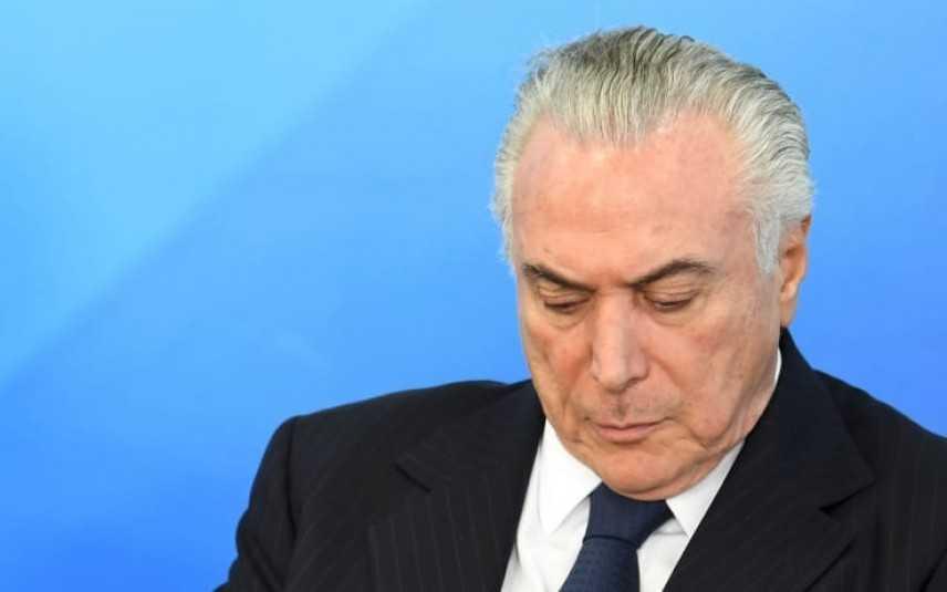 Brasile, presidente Temer accusato di corruzione