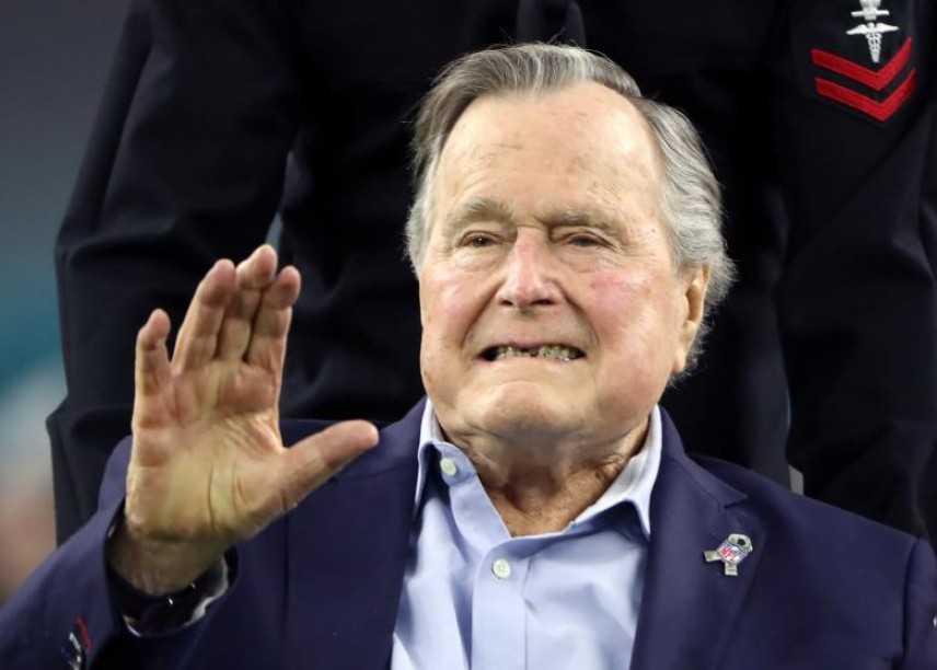 George Bush senior ricoverato in ospedale per una polmonite