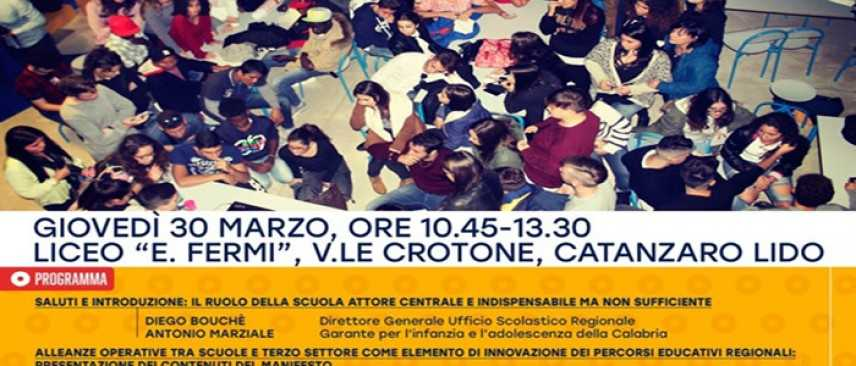 """Parte la sfida della Comunità Educante in Calabria al Liceo """"Fermi"""""""