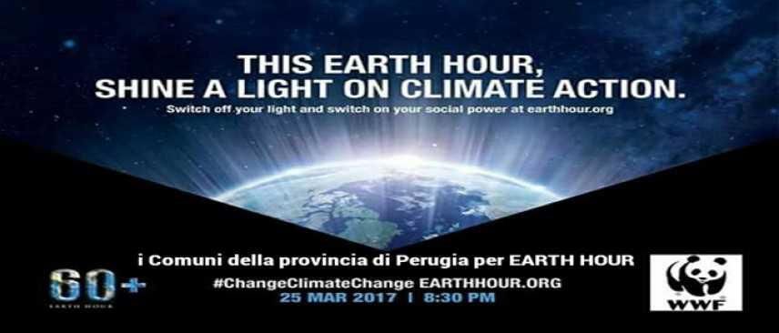 Perugia, wwf earth hour