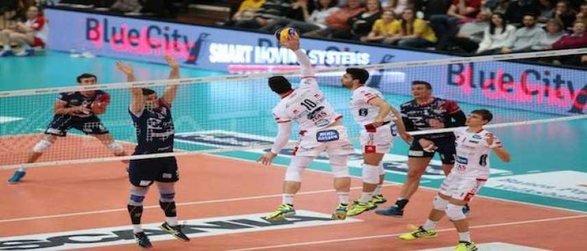 Play Off SuperLega UnipolSai: Diatec  Monza sconfitta in 3 set (Foto)