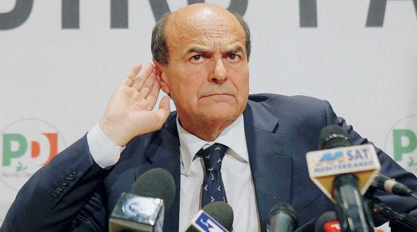 "Scissione Pd, Bersani: ""Il regista è Renzi"""